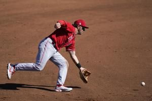 Reds' Kyle Farmer making his case to start at shortstop