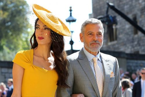 George Clooney served shots of his tequila at the royal wedding
