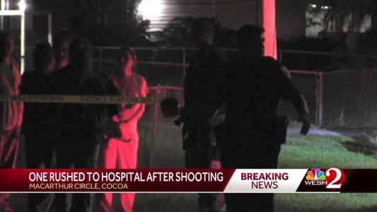 Man shot in chest in Cocoa, officials investigating