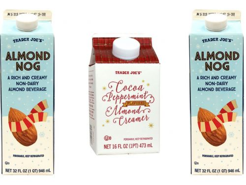 Trader Joe's has two new festive holiday drinks and they're perfect for vegans