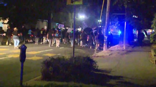 Demonstrators march in Sacramento for 5th night of Breonna Taylor protests