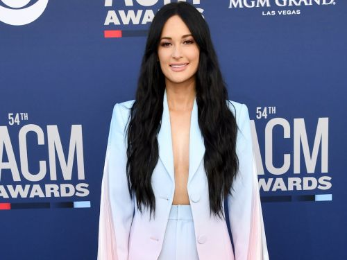 Kacey Musgraves added bangs to her signature long hair for a standout look