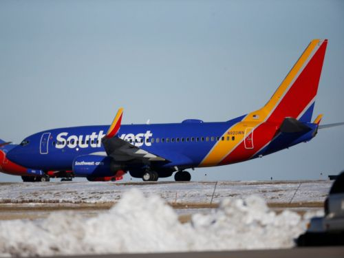 A Southwest flight caused an airport in Nebraska to close after it slid off the runway