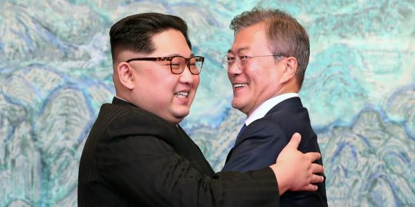 Kim Jong Un and Moon Jae-in will come face-to-face again in September