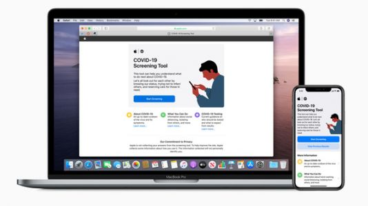 Apple's New Tool Let's You Screen Yourself For COVID-19