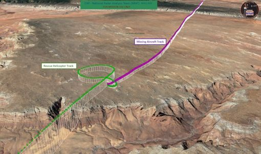 CAP NRAT reduces Arizona plane crash search area from hundreds of square miles to 100 feet, one survivor