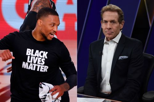 Damian Lillard dunks on Skip Bayless after rip job: 'You a joke'
