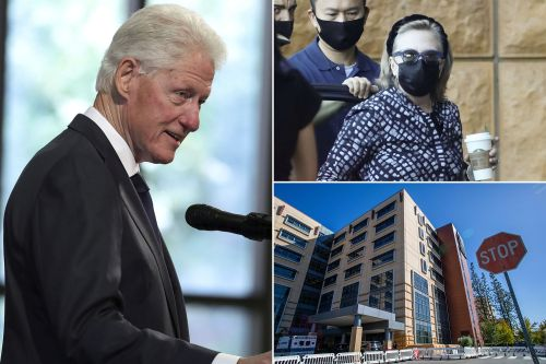 Bill Clinton expected to leave hospital soon - Hillary, Chelsea visit