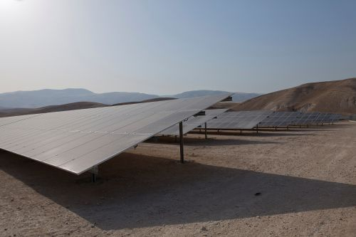 Palestine opens solar plant to further energy independence