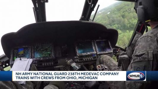 NH Army National Guard 28th Medevac Company trains with crews from Ohio, Michigan