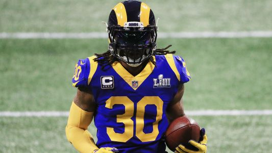 Todd Gurley injury update: Trainer confirms 'arthritic component' to bothersome knee