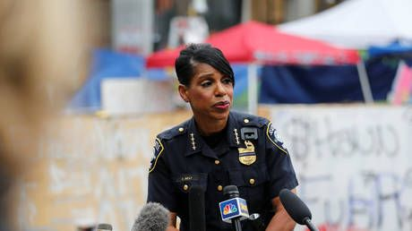 Seattle's 1st black female chief RESIGNS after city council chops police budget & officers' salaries