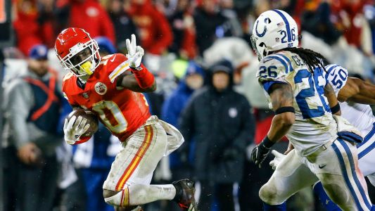 NFL playoffs: Kansas City Chiefs host the Indianapolis Colts