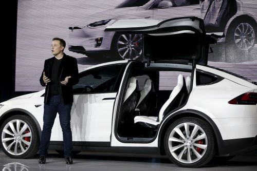 Tesla is recalling more than 9,000 Model X cars over a cosmetic adhesive that could fly off