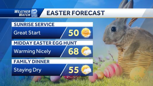 Videocast: Easter Sunday Forecast
