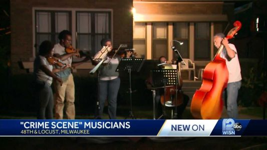 Meet the group of musicians who play songs at crime scenes