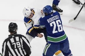 Blues' Blais suspended 2 games for illegal check to head