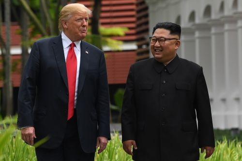 Trump praises 'tough guy' Kim, downplays 'bad things' he's done