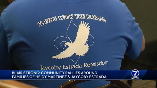 Blair strong: Community rallies around families of Heidy Martinez and Jaycoby Estrada