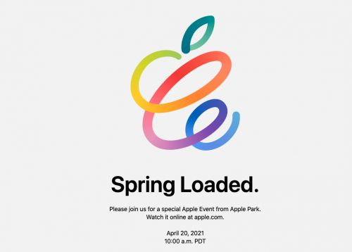 Apple's next event will take place on April 20