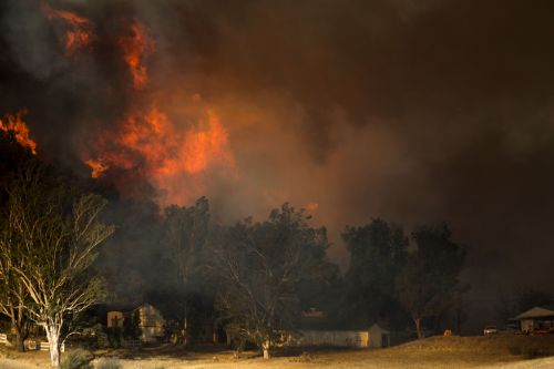 Here are celebrity homes affected by massive California wildfires