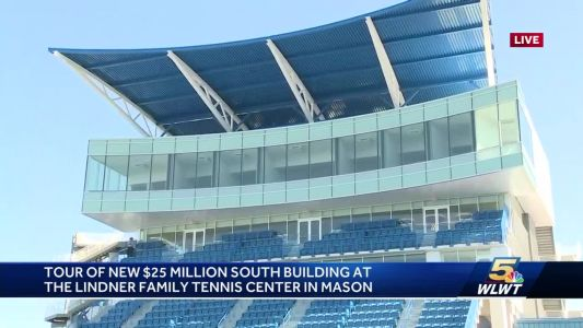 Tour: New $25 million building upgrades at Lindner Family Tennis Center