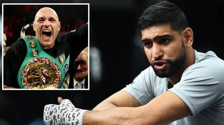 'It will be an easy win for him': Amir Khan says Tyson Fury will defeat Anthony Joshua with ease