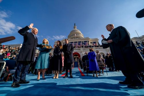 Biden oath second only to Reagan and Obama with TV viewers