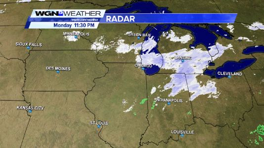 1 to 2-inches of snow could slow morning commute in counties adjacent to Lake Michigan Tuesday morning