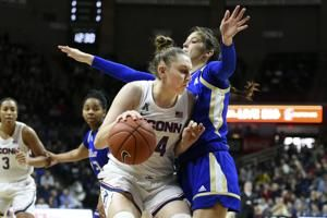 No. 4 UConn extends AAC streak to 127 with rout of Tulsa