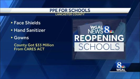Lancaster County schools getting protective equipment from county