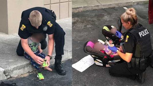 Naked toddler near IHOP leads to arrest of passed-out couple