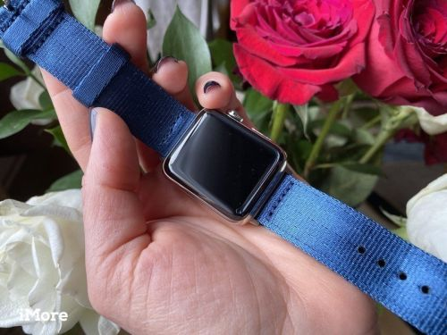 Clockwork Synergy's Seat Belt NATO Band wears tough but looks great