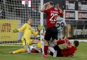 Havertz scores again as Leverkusen beats Freiburg in Germany
