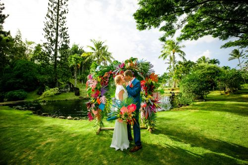 Tropical destinations perfect for an elopement or micro wedding
