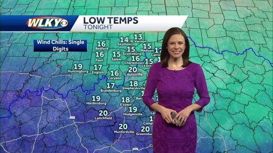 WLKY Meteorologist Tiffany Savona With Your Monday Night Forecast