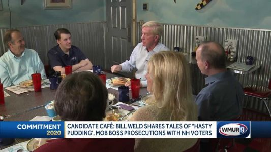 Weld chats with NH voters in 'Candidate Cafe'