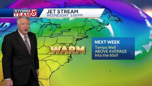 Video: 60º possible later this week