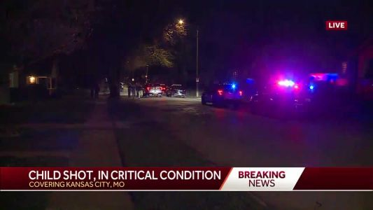 KCPD: Shots fired into car, critically injuring child