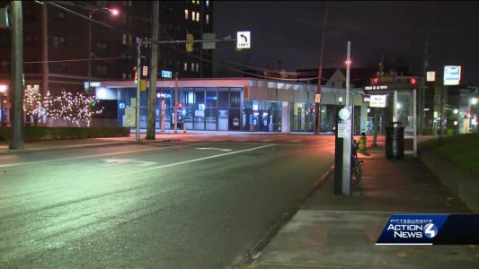Search for business robbery suspect in North Oakland