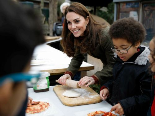 Kate Middleton says she prefers bacon to pepperoni on pizza because it's less spicy and people are in shock