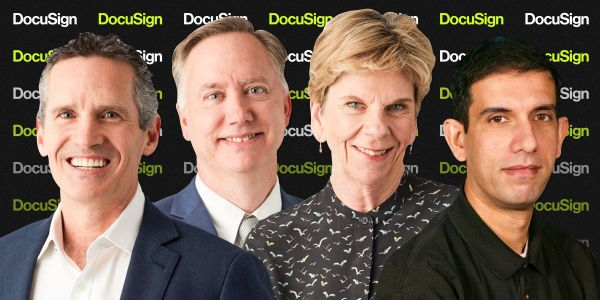 Meet the 13 power players supercharging growth at e-signature giant DocuSign