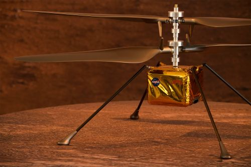 NASA Mars helicopter's flight delayed due to technical issue