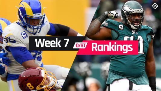 Week 7 Fantasy Defense Rankings: Sleepers, busts, waiver-wire D/ST streamers to target