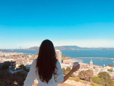 A day in the life of an HSBC executive who wakes up at 5:30 am to meditate and exercise, always eats green, and manages her work and life in two cities