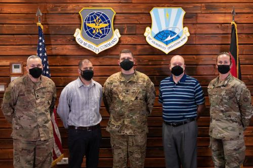"""521st AMOW awarded """"Best in the Air Force"""" Commander's Inspection Program"""