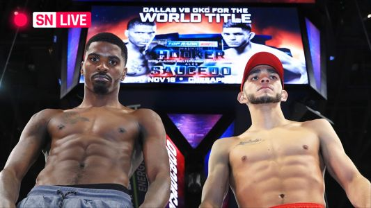 Hooker vs. Saucedo: Results, live updates, round-by-round scoring