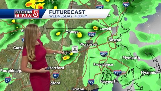 Video: Storms, rain, winds rolling in on Wednesday