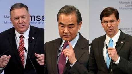 Chinese FM after Pompeo & Esper speeches: Replace 'China' with 'US', and maybe lies become facts?