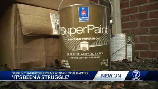 'It's been a struggle': Paint shortage hitting local business